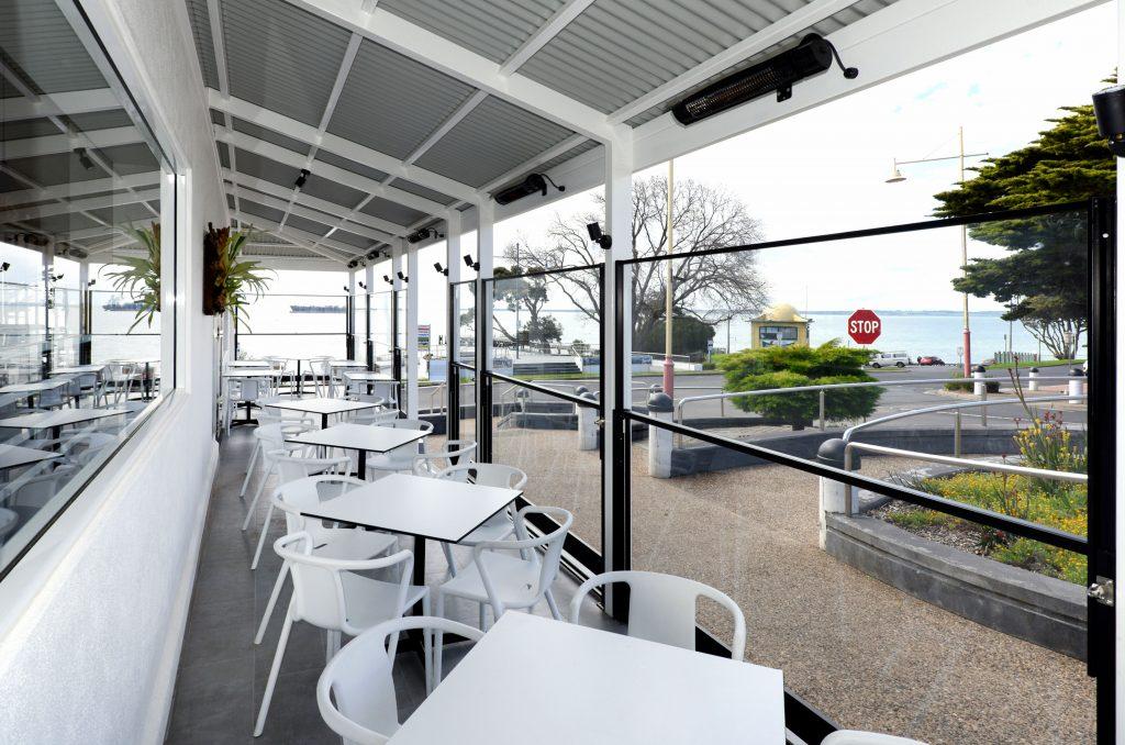 Eksklusive Glashegn til caféer